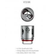 Сменный испаритель Smok TFV12 V12-X4 (4 спирали) (60-220W/100-170W) 0.15 Ом