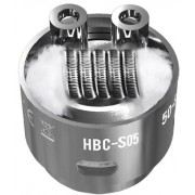 Сменный испаритель S05 (HBC-S05) Geek Vape Eagle Replacement HBC 0.15 Ом 40-70W (1 шт)