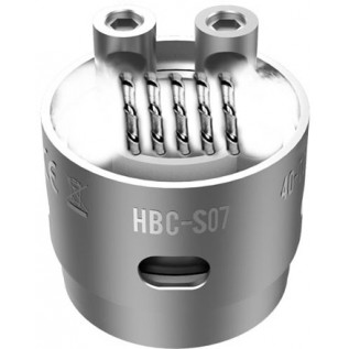 Сменный испаритель S07 (HBC-S07) Geek Vape Eagle Replacement HBC 0.2 Ом 40-70W (1 шт)