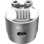 Сменный испаритель S04 (HBC-S04) Geek Vape Eagle Replacement HBC 0.25 Ом 40-70W (1 шт)