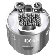 Сменный испаритель S02 (HBC-S02) Geek Vape Eagle Replacement HBC 0.4Ом 40-70W (1 шт)