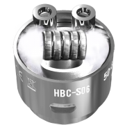 Сменный испаритель S06 (HBC-S06) Geek Vape Eagle Replacement HBC 0.15 Ом 40-70W (1 шт)